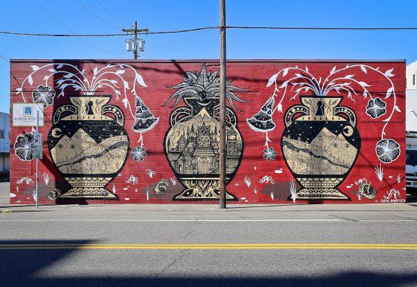 September featured Street Art Alexis Walls