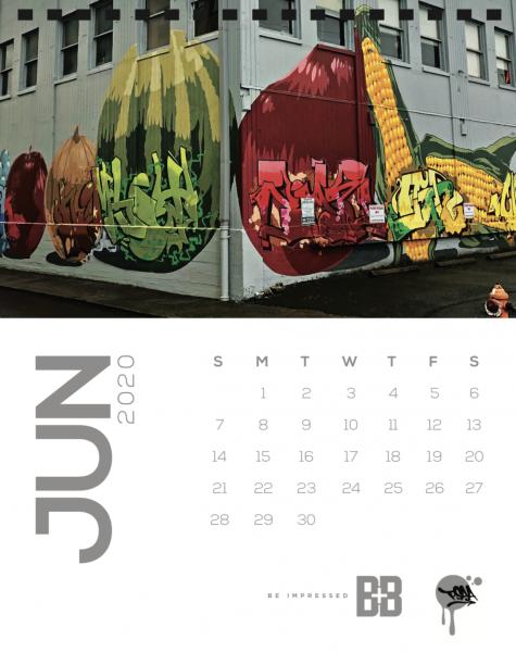 Produce Row, June Street Art Mural