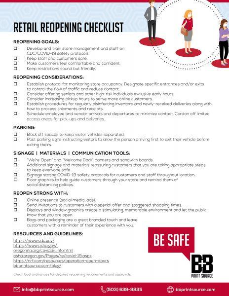 BB Retail Checklist