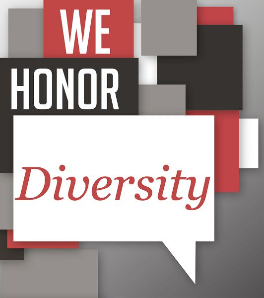 We honor Diversity