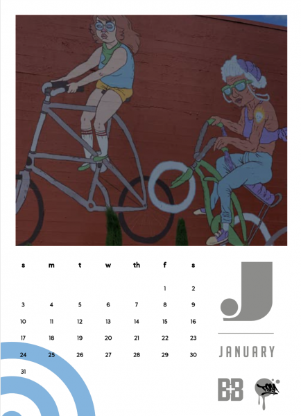 BB Print Source jan 2021 Street Art Calendar